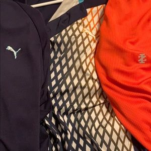 3 Golf Dry fit Polos